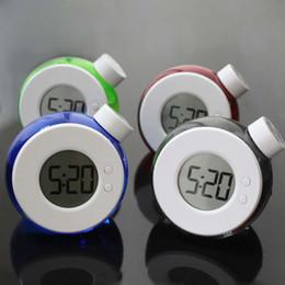 Carole4 Wecker Wasser angetrieben neue Digitaluhr umweltfreundliche Alarm für Büro Wohnzimmer Schlafzimmer (rot) von Fabrikanten