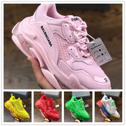 bolso bandolera color plata metalizado Rebajas Zapatillas 2019BalenciagaNew Speed Old Dad Sneaker Original Luxury Trainer Runner Sneakers Race Hombres Mujeres Calzado deportivo a54