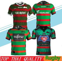camiseta de fútbol de australia Rebajas Nuevo 2019 2020 Sur Sydney Rabbitohs camiseta de fútbol 18 19 20 ANZAC de rugby de los jerseys de la camisa de Australia camisetas de rugby