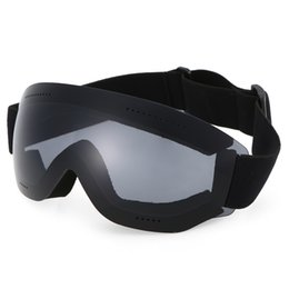 8b89d500b50 Anti-fog Goggle Skiing UV400 Protective Ski Goggles OTG Climbing Skating Snow  Winter Sports Goggles Eyewear for Men Women