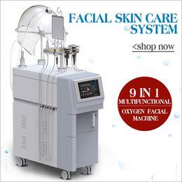 Profesional Pro 5in1 Hypeyperbaric Oxygen RF Ultrasónico BIO Fotón Máquina de rejuvenecimiento de la piel para la elevación de la piel Eliminación del acné desde fabricantes