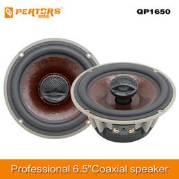 canción mp3 Rebajas Alta calidad de sonido Audio 6.5 pulgadas Hi-Fi Altavoces coaxiales Profesional sistema de dos vías del altavoz de agudos de seda Subwoofer para el coche automático