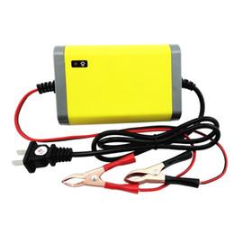 Dropship 12V 2A carregamento rápido carregador de bateria para carro da motocicleta Scooter elétrico bateria de chumbo-ácido Repair Intelligent Charger de