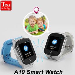 часы настенные Скидка 3G Smart Watch A19 для детей людей пожилого возраста GPS WIFI SOS LBS GPS Watch Camera Locate Finder emergency call 3G child smartwatch