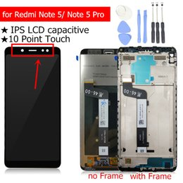 Argentina Pantalla LCD para Xiaomi Redmi Note 5 Pantalla LCD Pantalla táctil con digitalizador de cuadros Redmi Note 5 Pro AI Repuestos de cámara dual supplier note lcd repair Suministro