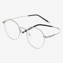 22b28824b3 Cubojue Round Glasses Frame Men Women s Degree Eyeglasses Man Foldable Prescription  Spectacles Vintage Eyeglass