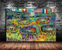 2019 malerei bestellen Chicago Board of Trade, Leinwand Malerei Wohnzimmer Wohnkultur moderne Wandkunst Ölgemälde