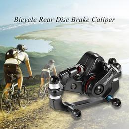 bicicleta de montanha disco freios traseira Desconto Y3238 Liga De Alumínio Freio Da Bicicleta Ciclismo Ao Ar Livre MTB Mountain Bike Freio A Disco Traseiro Paquímetro Mecânico Freno Disco Trasero Bicicleta