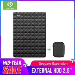"seagate hard drives Promo Codes - Seagate Portable 1TB HDD 2.5"" External Hard Drive 1TB 2TB 4TB USB 3.0 Black Hard Disk for Computer Laptop Disco Duro Externo"