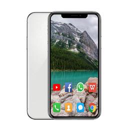 vídeo quente mms Desconto Android Goophone XS MAX 6.5 polegada ram smartphone 1G rom 8G 16G ID Rosto Quad Core MTK6580 Sem Fio de Carregamento GSM WCDMA telefone