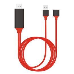 Hdmi pour ipad en Ligne-Universal Type-c micro usb vers HDMI Câble Adaptateur Convertisseur 1080P Pour Adaptateur HDTV Pour iPhone iPad Tablette Samsung S9 Note 9