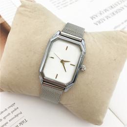 2019 braceletes dhl grátis Top quality mulheres de luxo relógio de quartzo senhora pulseira de aço pulseira cadeia 15 pcs dhl livre japão movimento cor dourada cinto novo modelo braceletes dhl grátis barato