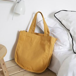 26bfd455c4c4 brown canvas fabric Australia - Canvas Cute Tote Bag for Teenager Women  Casual Leisure Daily Fabric