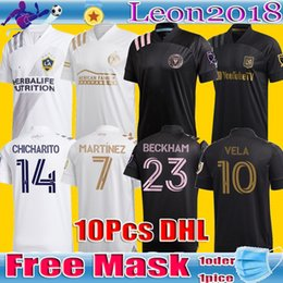 valencia casa cf Desconto qualidade Thai 2020 INTER MIAMI camisa socer 20 21 beckham LA Galaxy Chicharito Inter Miami CF futebol Jerseys PIZARRO CAMISAS