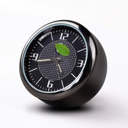 2019 запчасти для экскаваторов hitachi Для автомобилей BMW Часы Заверните интерьер светящимися Электронные кварцевые часы украшения часы украшения