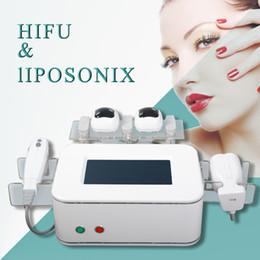 Meilleure vente portable liposonix perte de poids minceur machine Fat réduction HIFU liposonix minceur raffermissant levage peau équipement de beauté ? partir de fabricateur