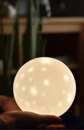 Variedade leve luz on-line-Novidade Iluminação Led Variedade Luz Da Noite Estrelada USB Criativo Estrela Lâmpada de Projeção De Silicone Crianças Presentes Do Bebê Berçário Luz Da Noite JK0061A