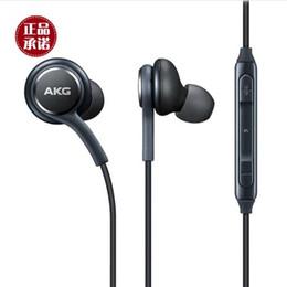 2019 yeni S8 Kulaklık Hakiki Siyah Kulak İçi Kulaklıklar Kulaklık Ahizesiz Samsung Galaxy S8 S8 Artı Için DHL ile OEM Earbudss8 nereden