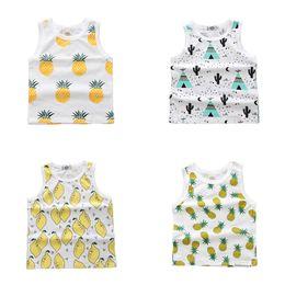 modelos de camiseta de los niños Rebajas 2019 muchachos del verano camisas de los niños de dibujos animados modelo de ropa interior de chicas Las camisetas del bebé camisola Camisetas para los niños Ropa DBT129