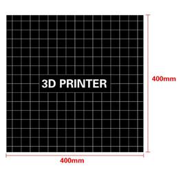 Листовое здание онлайн-400400 мм 3D Печать Построить Поверхность Heatbed Платформа Стикер Печати Простыня для OS2043-1