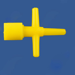 2019 solenóide plástico de água Aquário Gás Válvula Reguladora Yellow Water Stop Válvulas Anti ozônio plástico Válvula Válvula de Controle 4MM