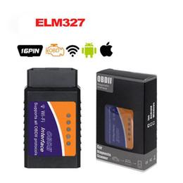 2019 elm327 v1.5 obd2 El explorador de diagnóstico súper ELM327 WIFI OBD2 V1.5 coche mejor Elm327 WIFI Mini ELM 327 V 1.5 OBDII iOS herramienta de diagnóstico elm327 v1.5 obd2 baratos