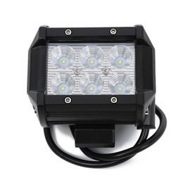 2019 motocicleta de indicadores de bala Lâmpada conduzida da luz do trabalho do diodo emissor de luz 18W para a iluminação adicional do veículo fora de estrada da motocicleta