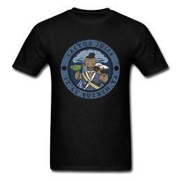 2019 camisetas gráficas de verano para hombre Real Cactus Jugo camiseta Hombres Vintage Graphic Tops Tees 100% Algodón Ropa de Verano Divertido Mens Regalo Camiseta Apta Camisetas camisetas gráficas de verano para hombre baratos