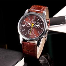 reloj de cocodrilo de lujo Rebajas Reloj Hombre Relojes relogio masculino Moda de lujo Cocodrilo Piel sintética Reloj analógico para hombre Relojes de pulsera reloj hombre