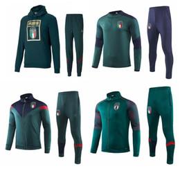 Sportswear italia on-line-2019 ITALY BELOTTI formação paletó de futebol 19 20 Verratti Bonucci ZANINLO JORGINHO futebol survêtement set sportswear agasalho