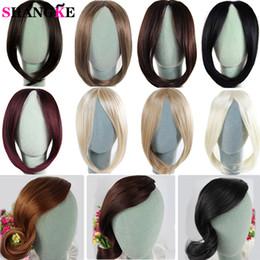 SHANGKE Clip long sur les cheveux avant Bang Side Side Extension de cheveux frange Real Natural Synthétique morceau de cheveux ? partir de fabricateur