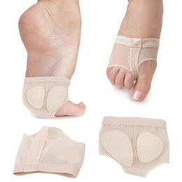 schuhpolsterung für zehen Rabatt 1 Paar Ballettschuhe mit weicher Sohle für den Tanzfuß, Vorfuß, Zehen, Fußschutz, Zehenpolster, FC55
