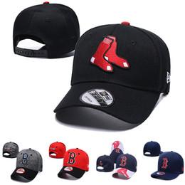 alta calidad para hombre gorras Rebajas 2019 hombre mujer Boston nueva gorra de béisbol de alta calidad de punto sombreros de béisbol Red Sox béisbol diseñador gorras gorras