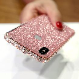 tarjeta g3 Rebajas Caja del teléfono de lujo para el iphone caso del iphone 11 Pro Max XR caso del diseñador de teléfono XS MAX brillo del diamante del Rhinestone para el iPhone 678 Plus