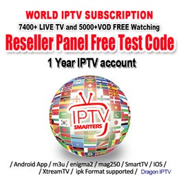 tvs usa Promo Codes - IPTV M3u Smarters For Smart Androd tv box 6000+ Europe French Arabic UK Germany USA sports iptv 1 Year IPTV Subscription