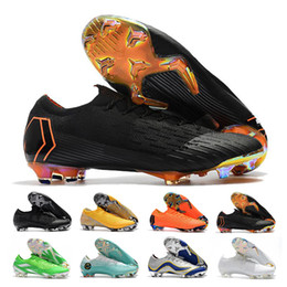 b2520afb9 Mercurial Superfly VII Mens Low Ankle Soccer Shoes Elite FG Football Boots  CR7 Superfly VI 360 Neymar Outdoor Soccer Cleats