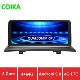 2020 bmw di gps dell'automobile COIKA Auto DVD GPS Navi Radio 8 Core 10.25 '' Per BMW X3 E83 2004-2009 4 + 64GB RAM WIFI 4G Android 9.0 DSP SWC BT Google Carplay Touch Stereo bmw di gps dell'automobile economici
