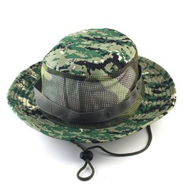 7e4427e4d9573 10 Colors Airsoft Sniper Camouflage Nepalese Cap Military Army American  Military Accessories Hiking Hats Tactical Bucket Beanie Hats