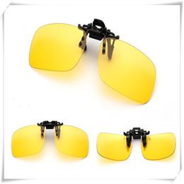 clip sonnenbrille nacht fahren Rabatt Outdoor-Polarisationsbrille Tag Nachtsicht Driving Fashion New Style Sonnenbrille Clip-on Flip-up-Objektiv mit Schutzausrüstung