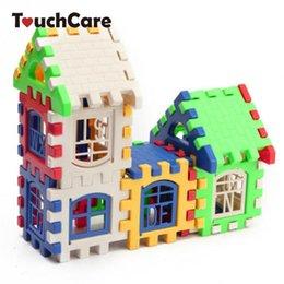 brinquedos para 13 anos meninos Desconto blocos Uilding bebê engrenagem plástico Conjuntos Crianças Plastic Engrenagens Child House Building Blocks Educacional Toy Construction Set Cérebro Jogo Crianças ...