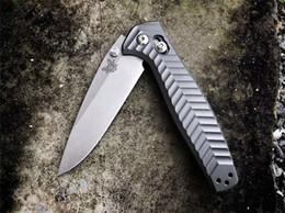 Ejes de aleaciones online-Butterfly Benchmade BM781 781 Cuchillo plegable rápido Osborne M390 - AXIS Lock Cuchillo de aleación de titanio BM940 BM943 3300 BM42 BM40