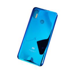 Для xiaomi mi 8 задняя крышка батареи MI8 закаленное стекло задняя крышка для mi8se MI 8 SE телефон задняя крышка батарейного отсека от