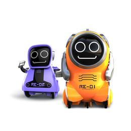robô multifuncional Desconto Silverlit Mini Robot Intelligent Multi-Function Companion Voz elétrica bolso robô Crianças Meninos Interativo Pokibot Toy Meninos Holiday Gift 06