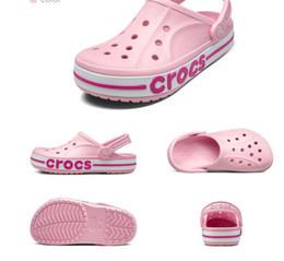 Nouvelle sandale pour hommes en Ligne-Été de marque mode croc nouvelle chaussures trou antidérapantes Kalochi 2.5 garçons chaussures couple hommes hommes grils chaussures de plage croc
