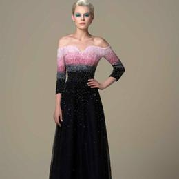 Couleur correspondant robes de bal hors épaule paillettes luxe Design filles Pageant robes longueur de plancher une ligne femmes vêtements formels ? partir de fabricateur