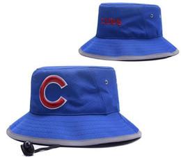 Golfe c on-line-2019 melhor qualidade Snapback Cubs Bucket Hat C Barril Cap Chapéus de Beisebol Snapbacks Strapback Casquette Golf Sport cap homens mulheres osso 03