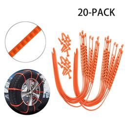 Kit d'urgence universel de voiture anti-dérapant chaîne neige zippée hiver ceinture anti-dérapant auto voiture style ? partir de fabricateur