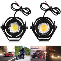 waterproof eagle eye Coupons - herorider 1 Pcs 10W 12V Led Eagle Eye Light Led Lamp Eagle Eye Car Headlight Fog Light Waterproof DRL For Motorcycle Auto