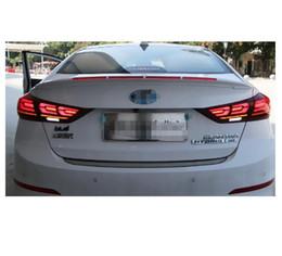 Fit: Hyundai Elantra 2011 2012 2013 LED Reflector Brake Light Taillight 2Way