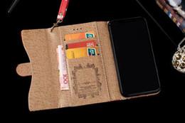 2019 iphone fall leder rhinestone Luxus designer diamant leder brieftasche flip case für iphone x xs max xr 8 7 6 6 s plus kartensteckplatz bilderrahmen fällen günstig iphone fall leder rhinestone